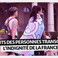 Image pour Droits des personnes transgenres : L'indignité de la France